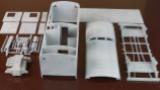 Sparangebot Bauteilesatz  Packwagen Pwgs 88 M1:27 76-teilig, Großteile PLA-Druck, Fahrwerk Nylondruck,ohne Fensterscheiben