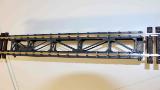 Schmalspurbahnbrücke 350 mm lang, Spurweite 45 mm, Maßstab 1:20