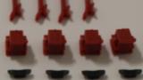 Bauteilesatz OW777; 3D-Druckteile; Aufbau, Fahrgestell, 4xAchslager, 4x Bremse, Kleinteile