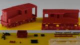 E92-7 Bauteilesatz; 2x Aufbau, 2x Fahrgest, 2x Getriebeblock, 4x Kupplung V2A, Kleinteile