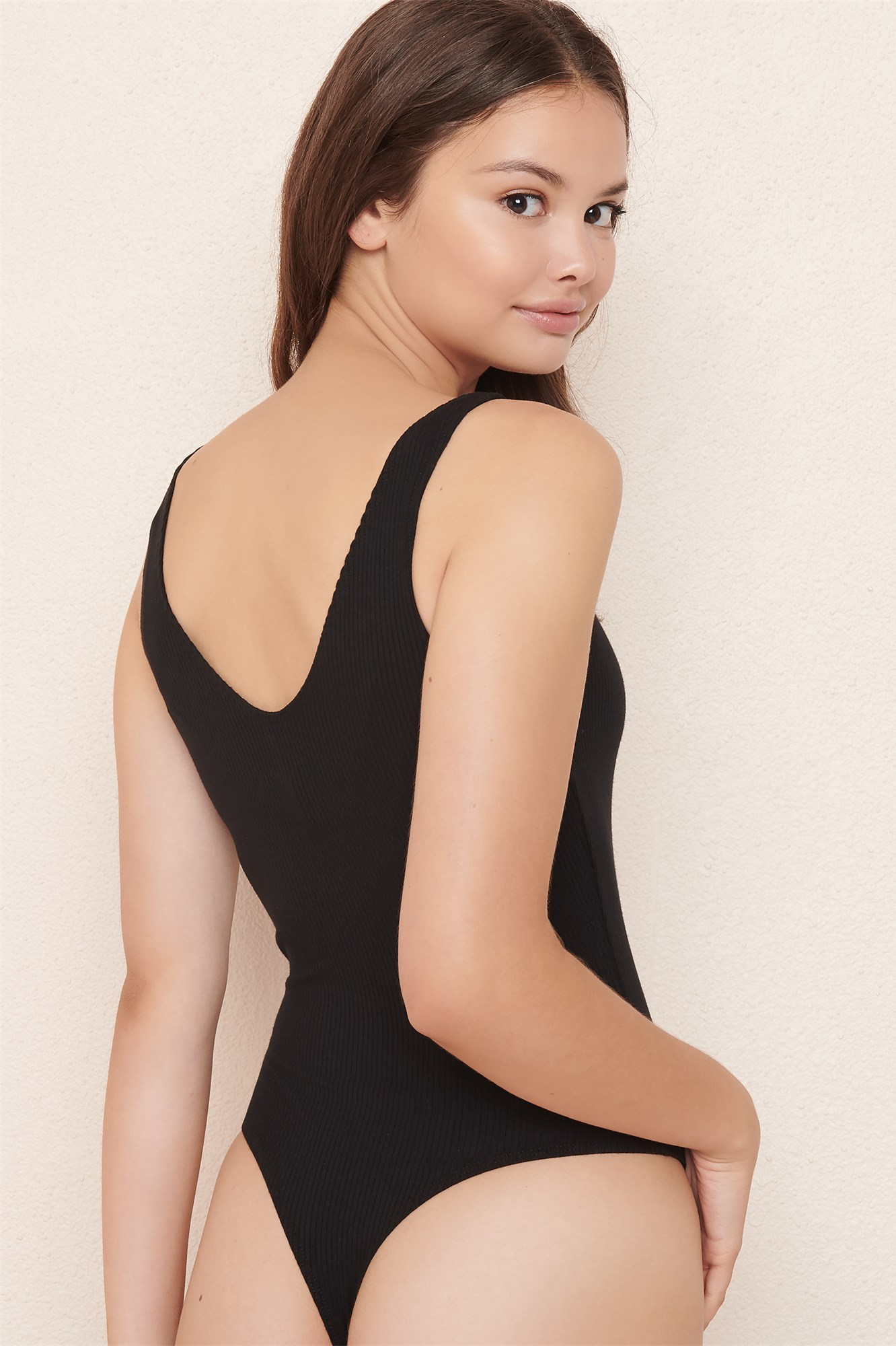 Image 5 of The V-neck Bodysuit