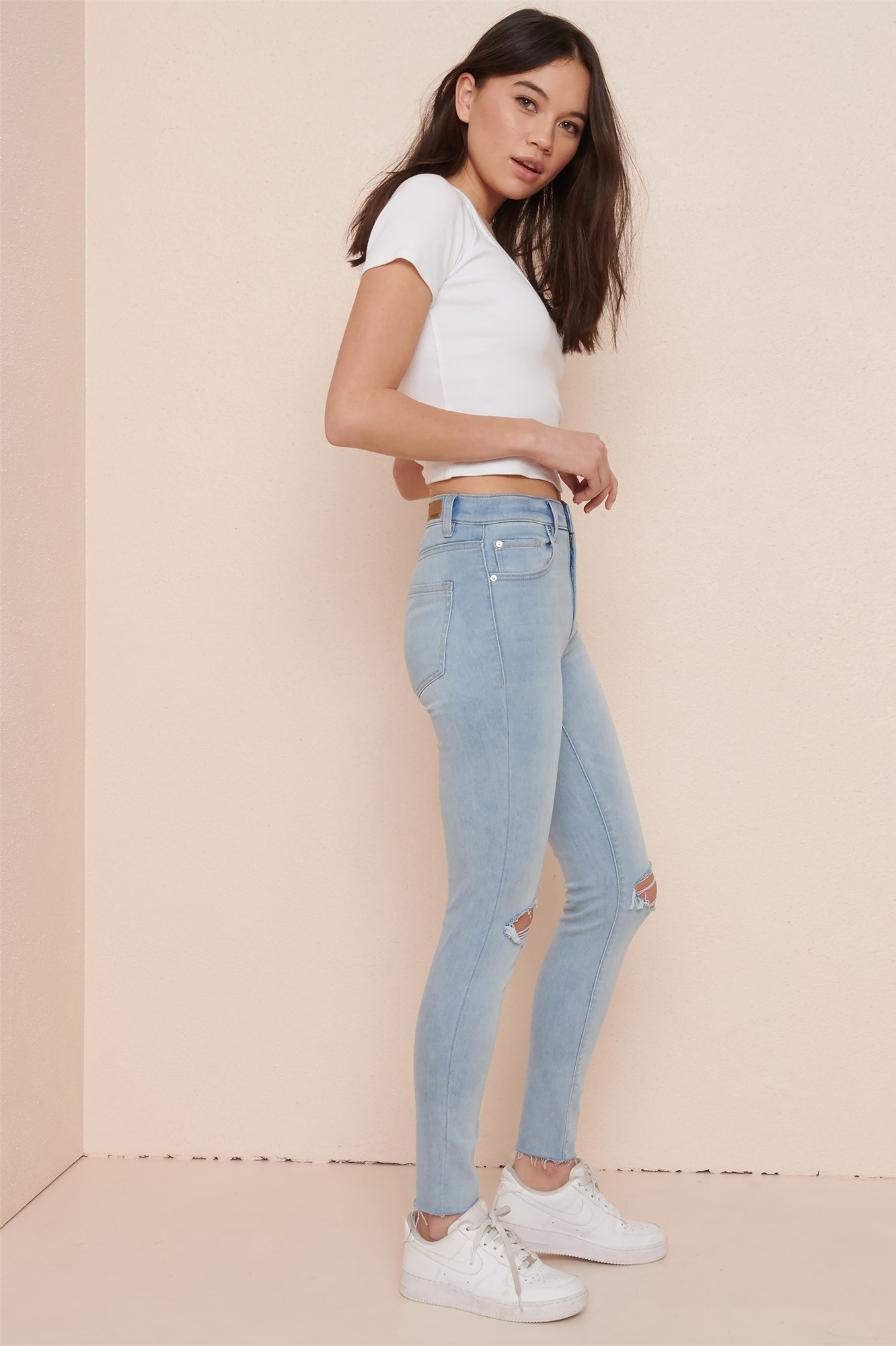 Image 2 of High Rise Jegging - All Bright Bleach - FINAL SALE