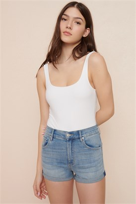 Image of Short à taille ultra-haute