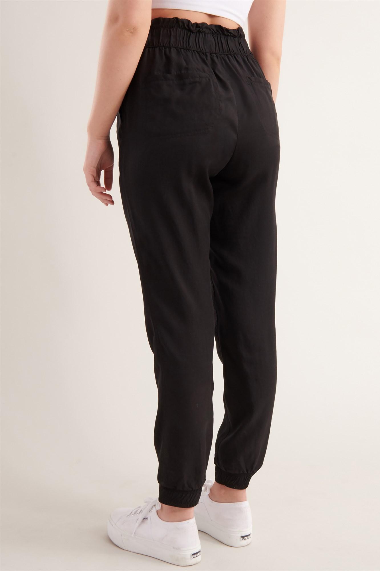 Image 3 of Tencel Paperbag Pant