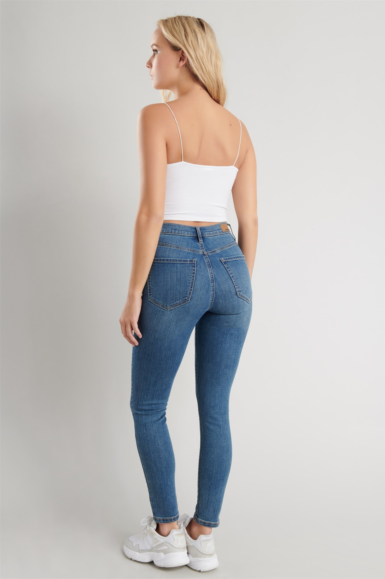 Image 3 of Ultra High Rise Jegging - Balos Blue