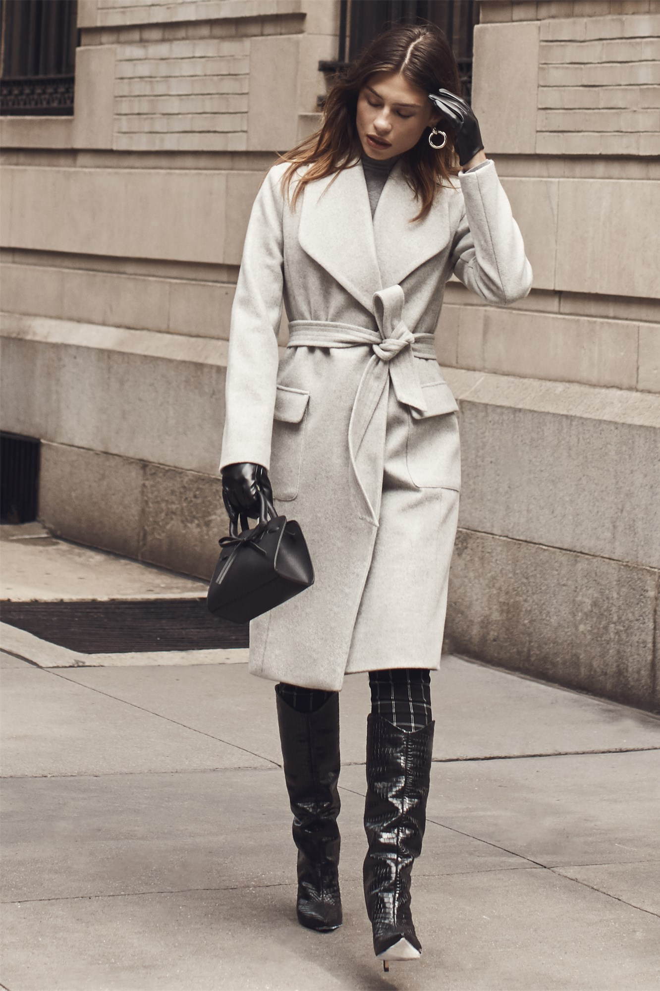 Belted Coat by Dynamite