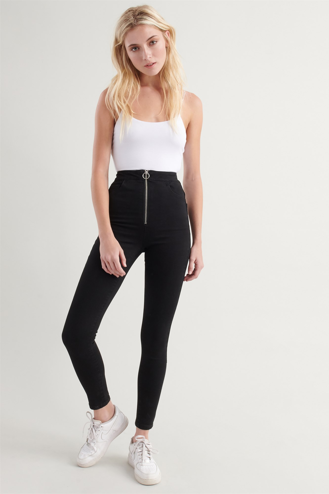 Image 2 of Extreme High Rise Jean - Black
