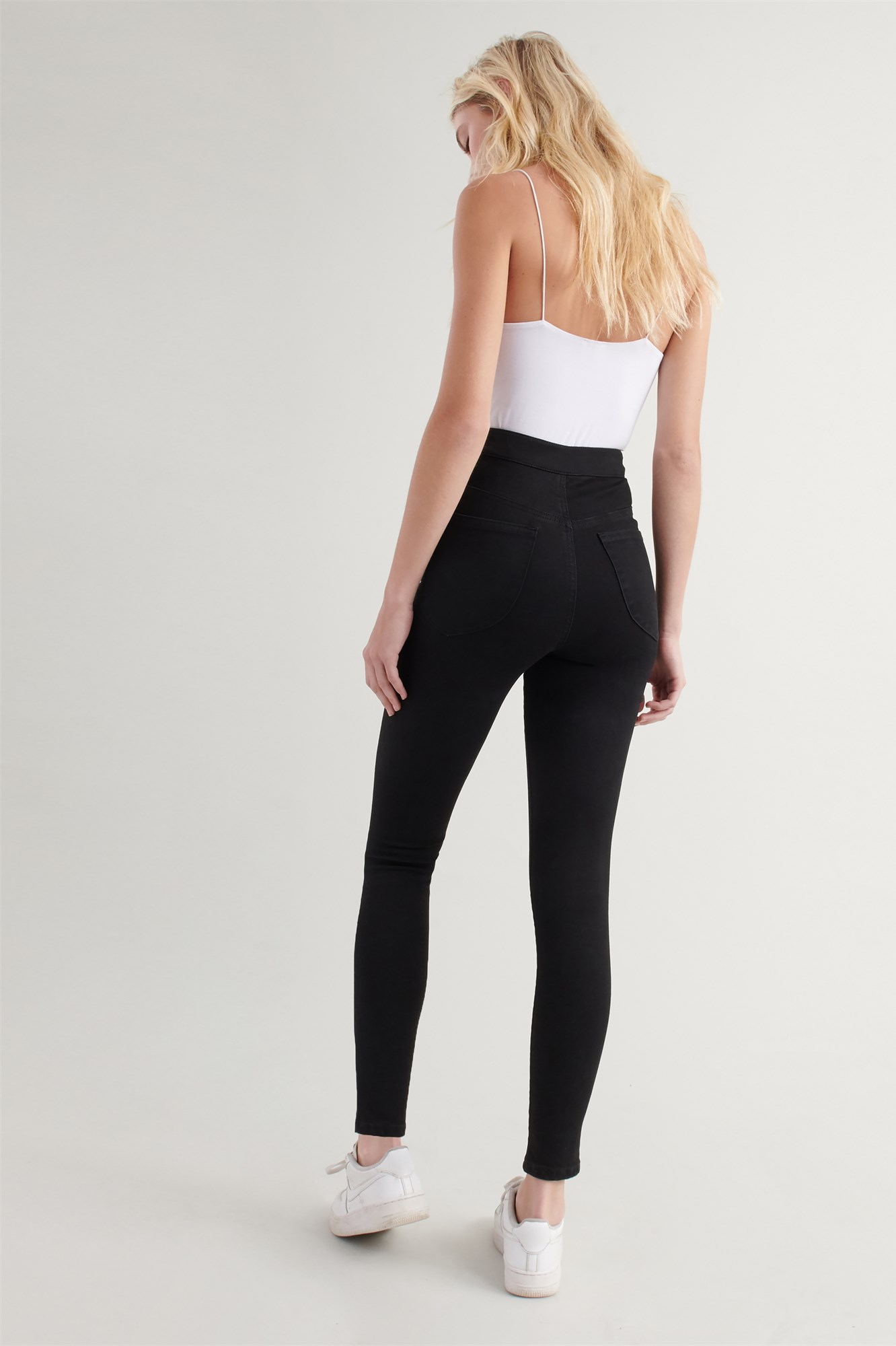 Image 5 of Extreme High Rise Jean - Black