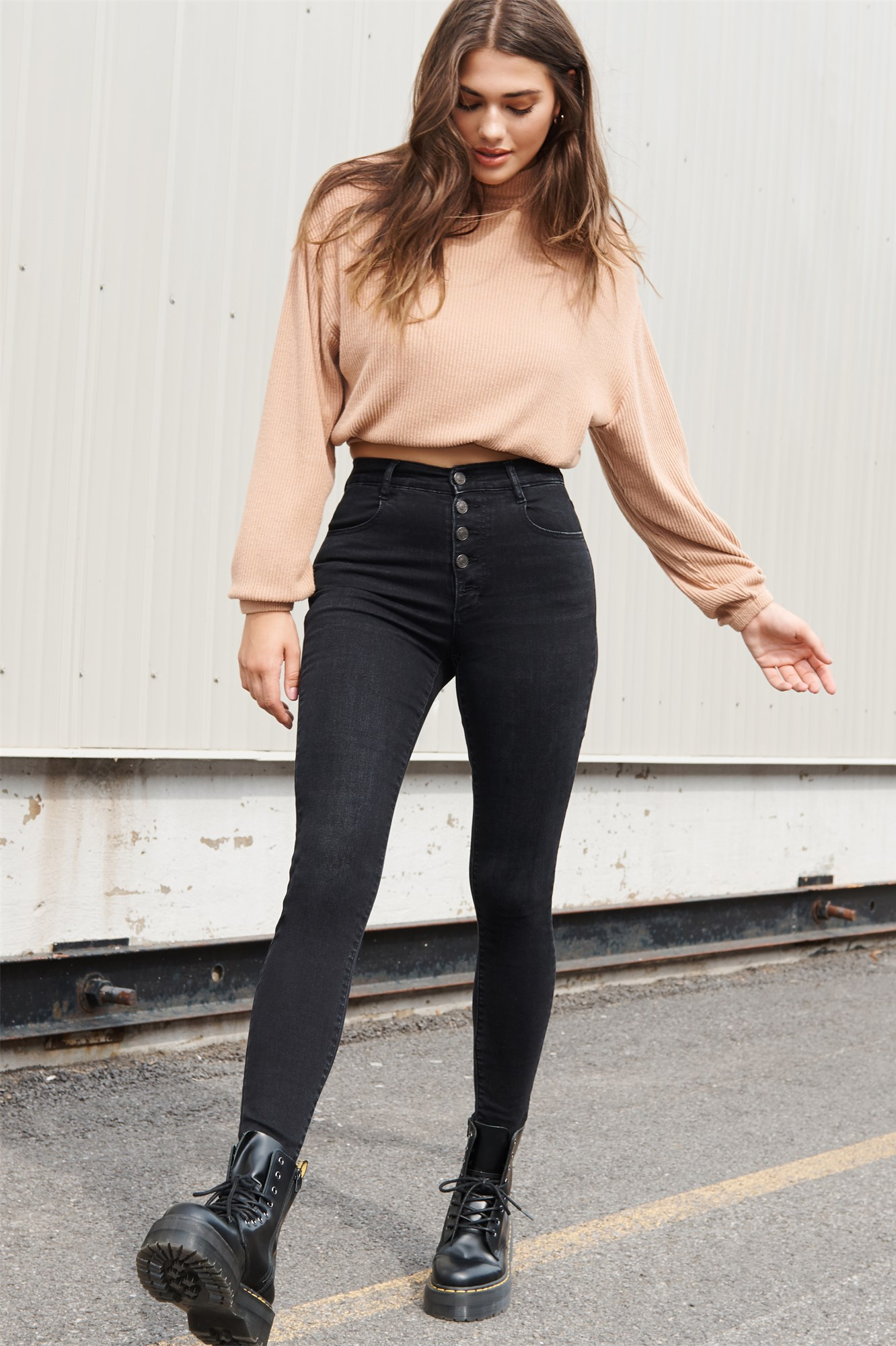 Image 1 of Ultra High Rise Jegging