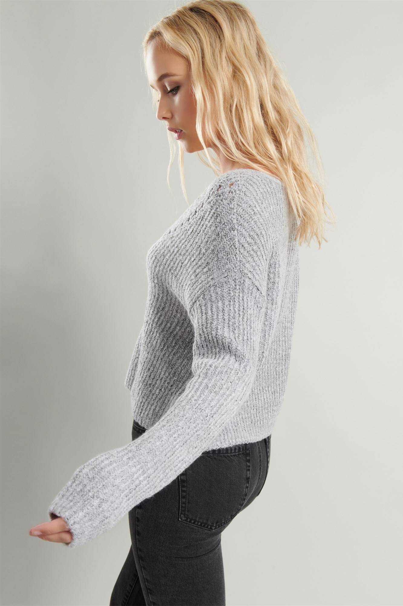 Image 4 of The Kendall V Sweater