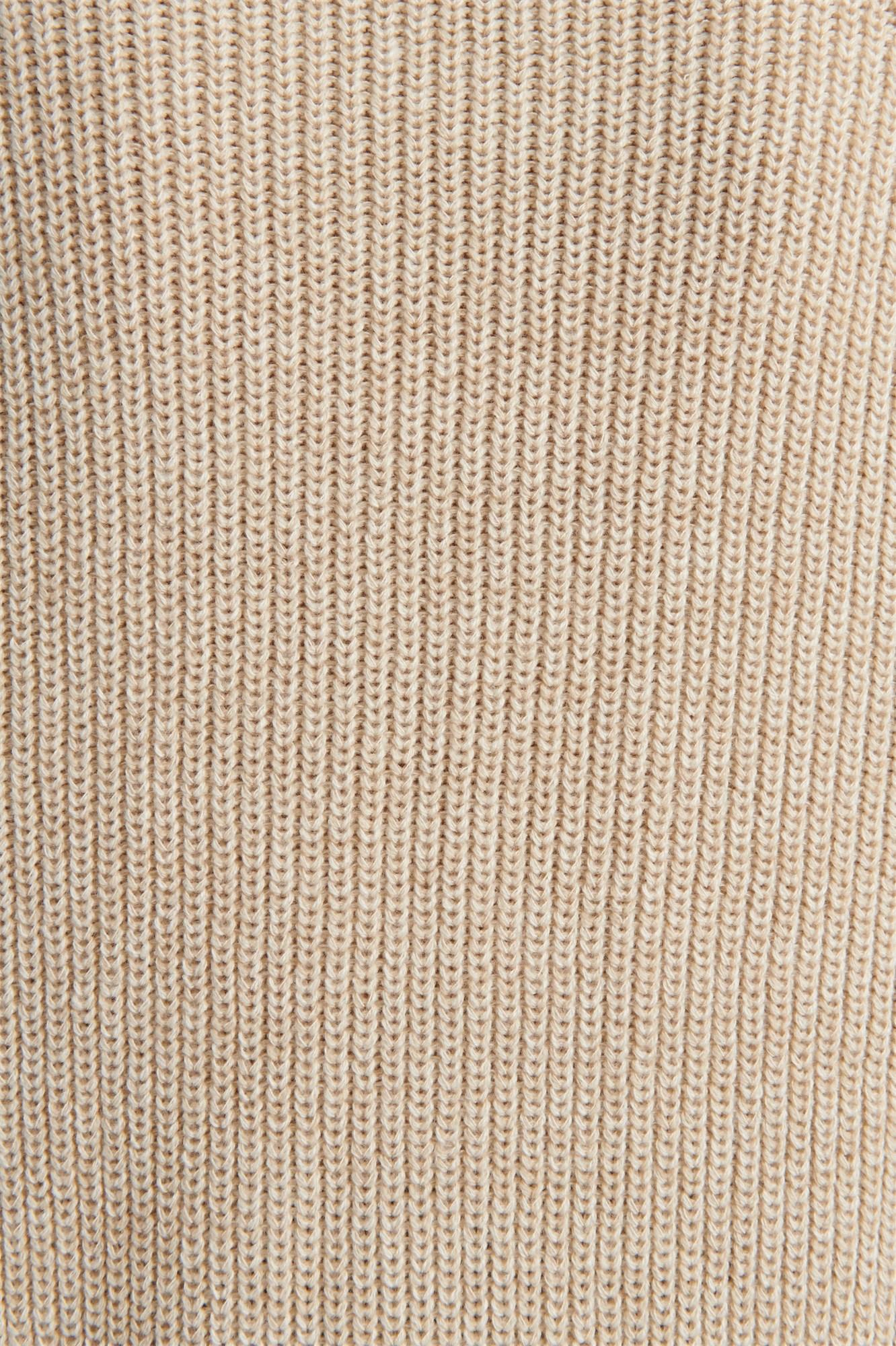 Image 6 of Crew Neck Tunic Sweater