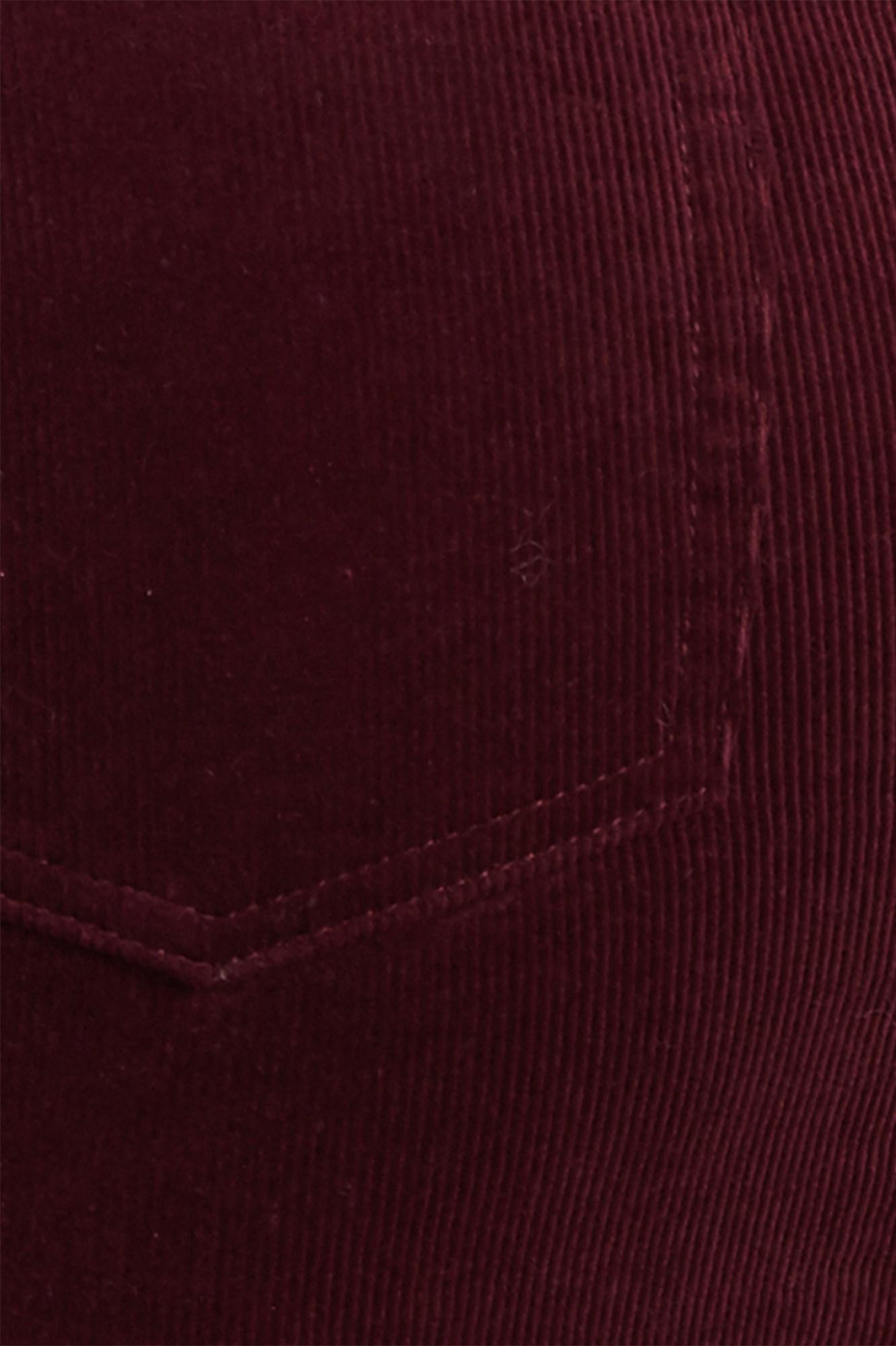 Image 5 of High Rise Corduroy Skirt