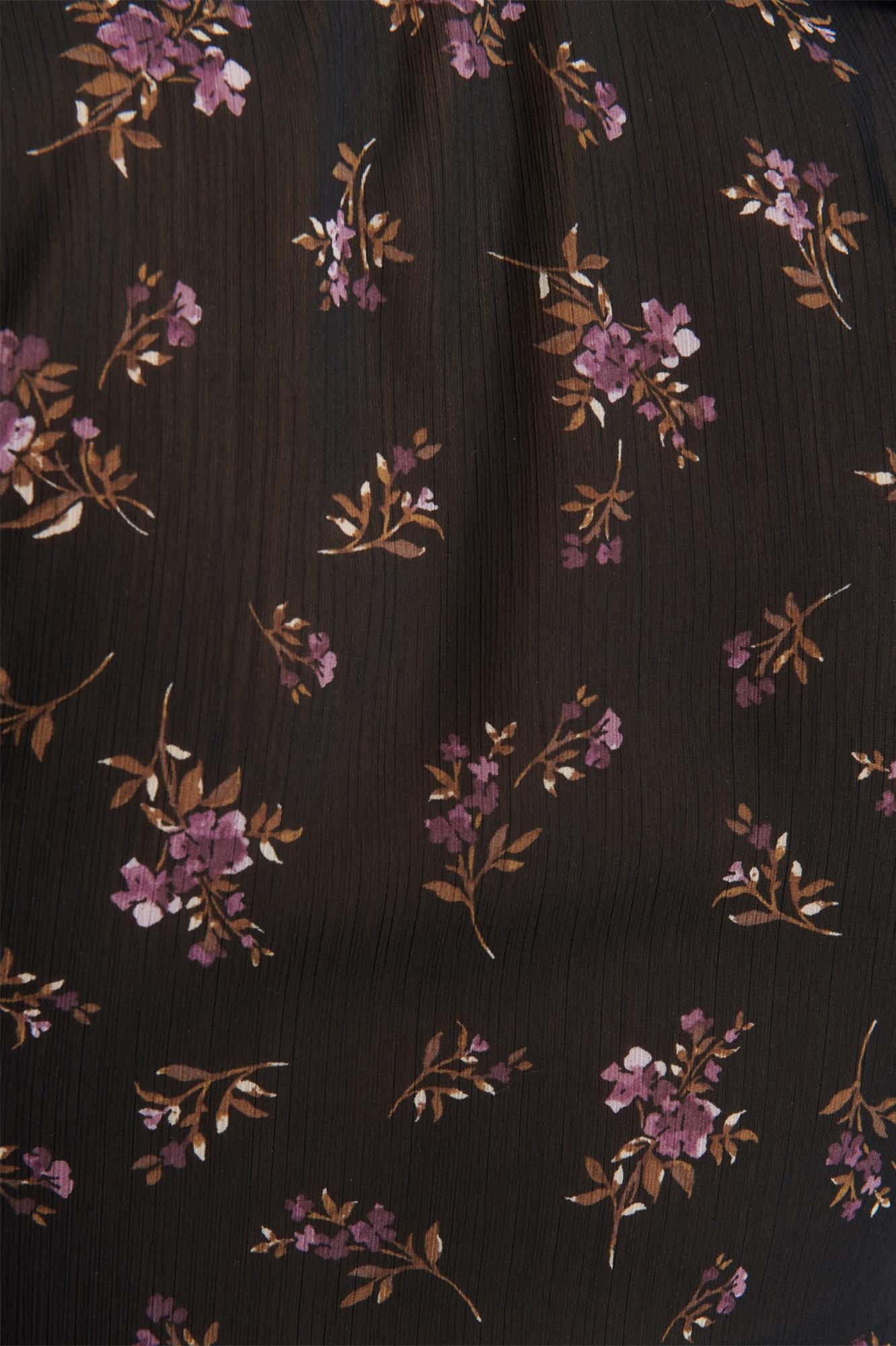 Image 6 of Chiffon Ruffle Shirt