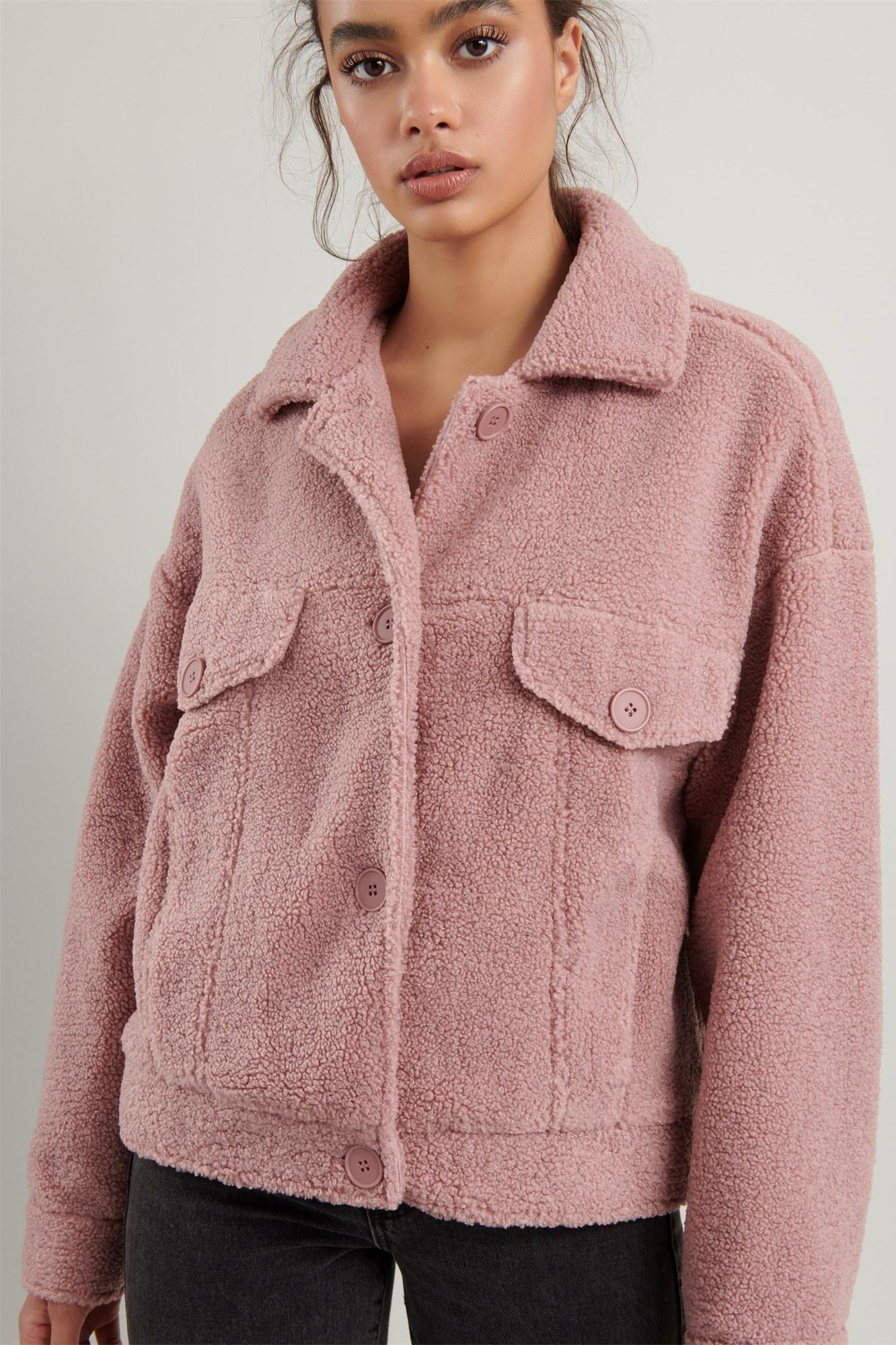 Image 6 of Sherpa Shirt Jacket