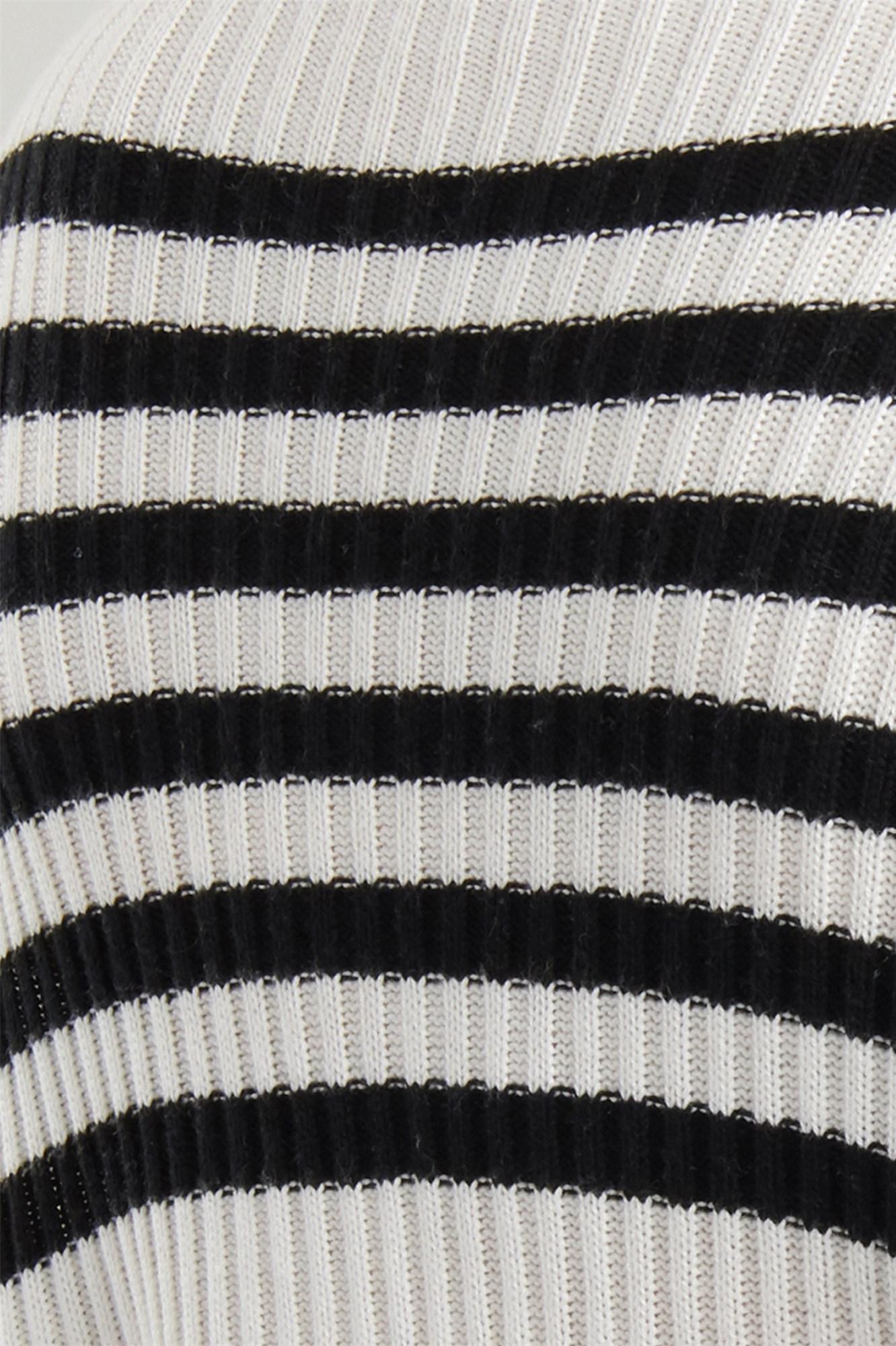 Image 7 of Crop Drop Shoulder Sweater