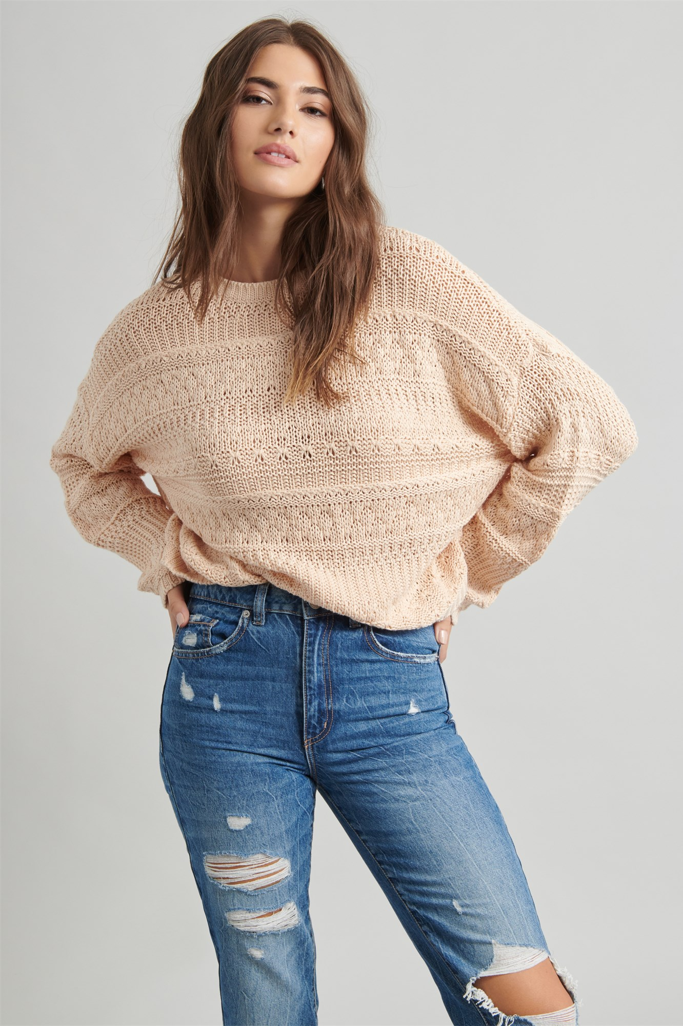 Online Only |  Cotton Knit Sweater by Garage