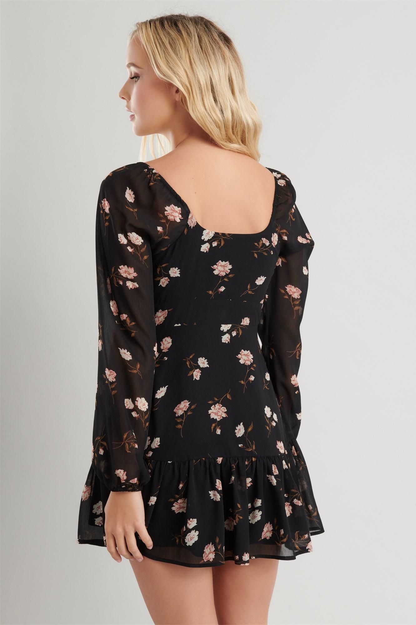 Image 4 of Tiered Chiffon Dress