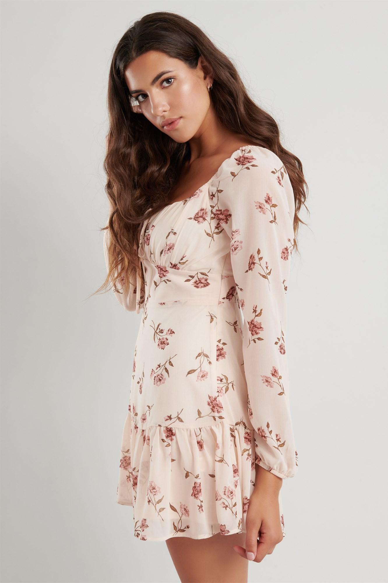 Image 2 of Tiered Chiffon Dress