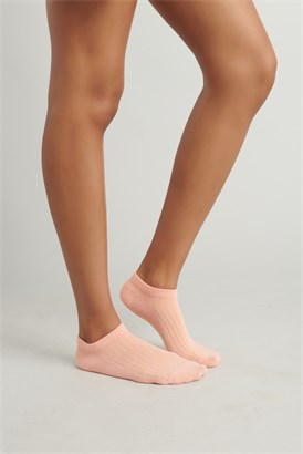 Image of Ribbed Anklet Socks