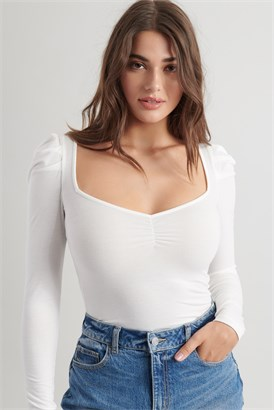 Image of Puff Sleeve Top