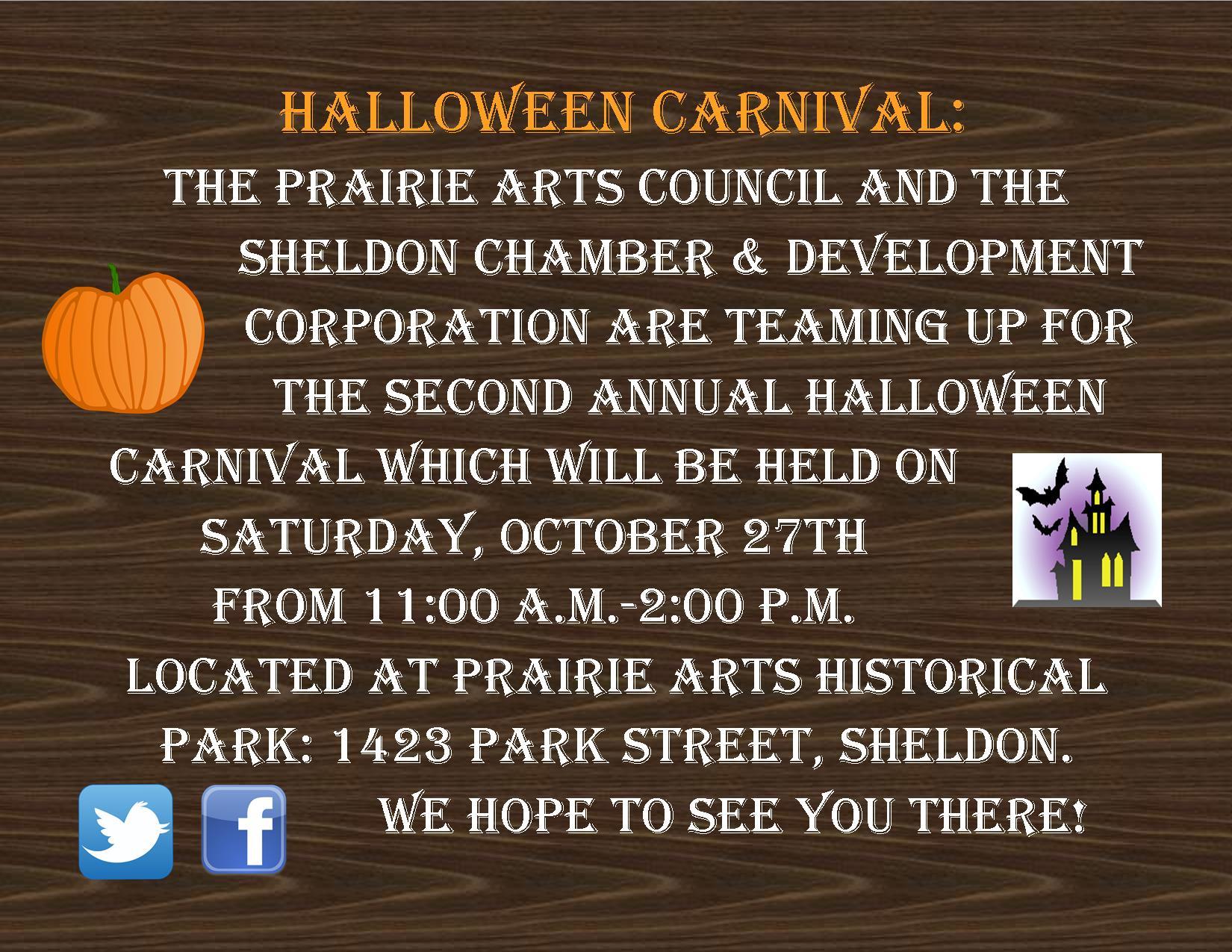 2018 Annual Halloween Carnival