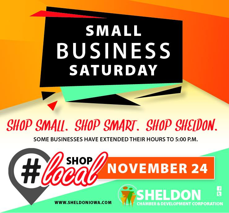 Shop Small, Shop Smart, Shop Sheldon!