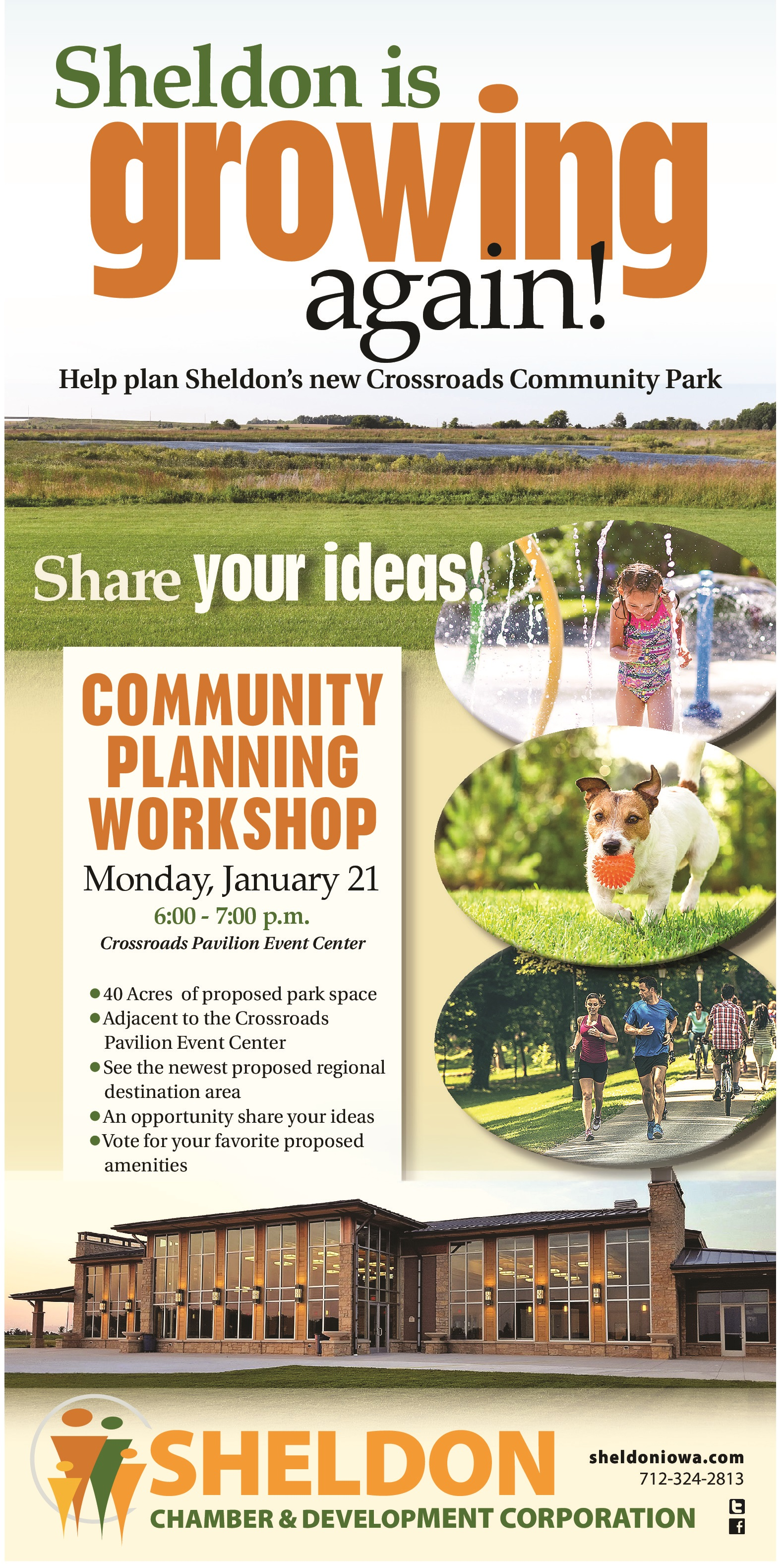 Crossroads Development Community Park Planning Session
