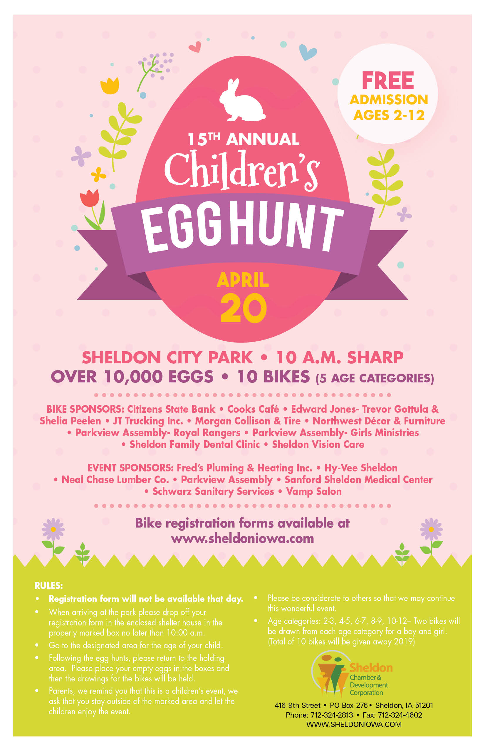 15th Annual Children's Easter Egg Hunt