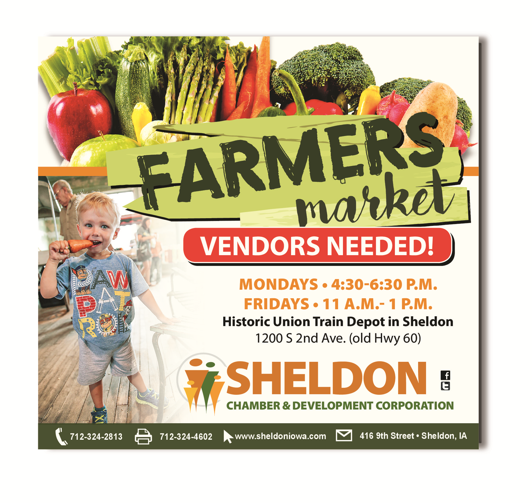 2019 Sheldon Farmers Market