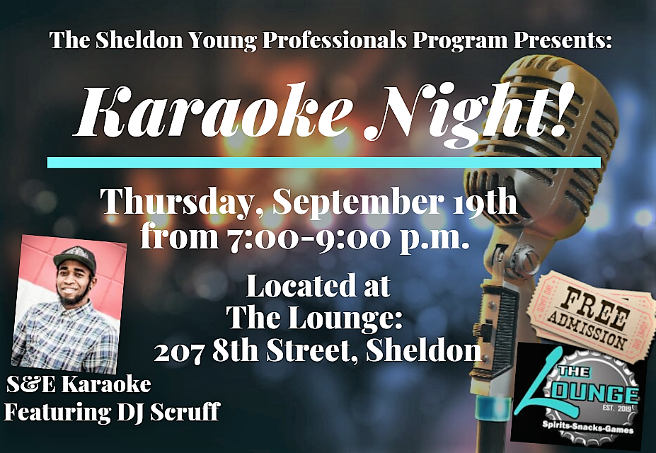 Karaoke Night! Hosted by the Sheldon Young Professionals