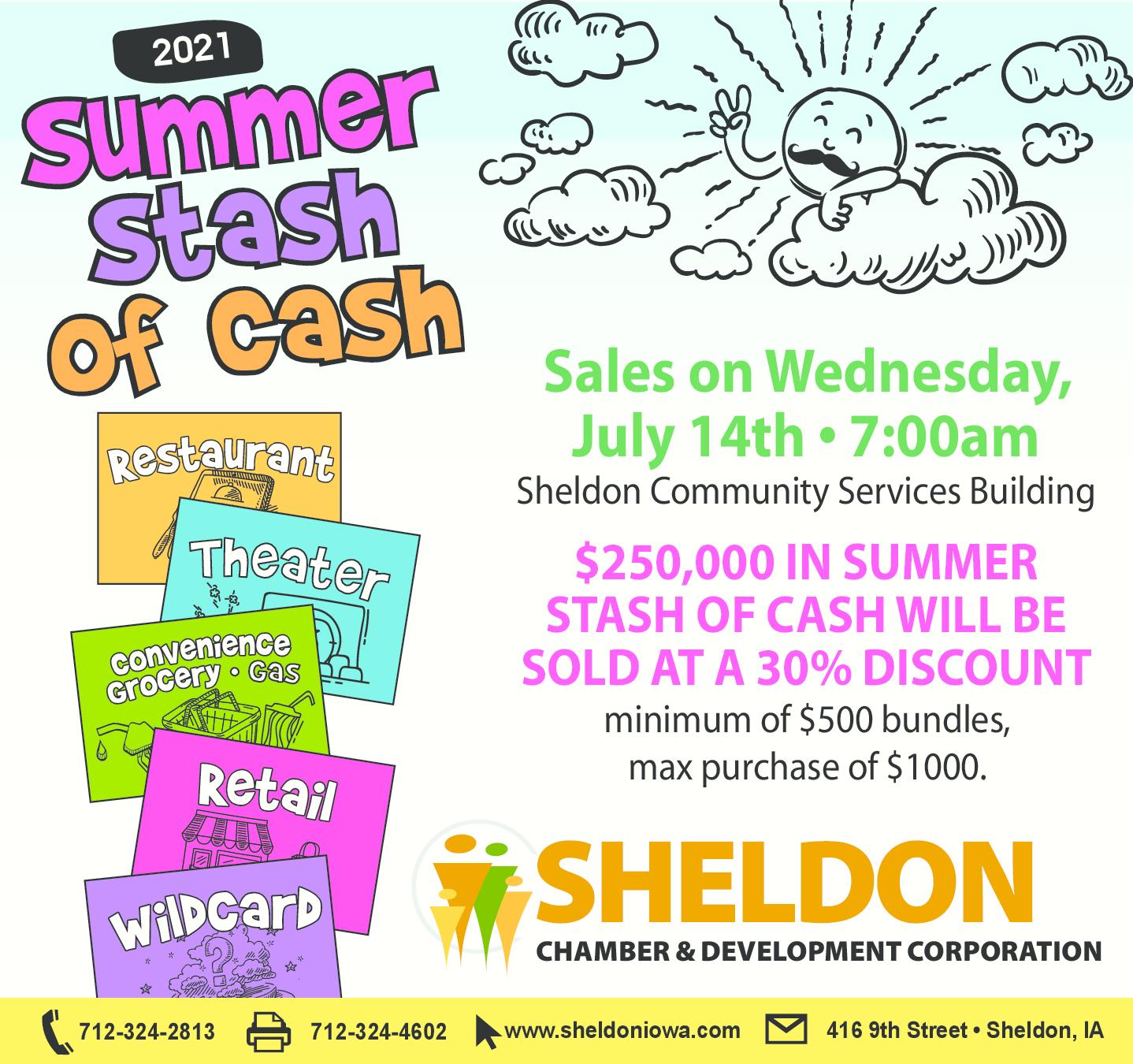 Summer Stash of Cash