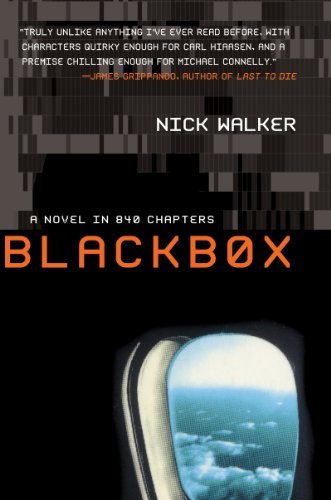 Book cover for Blackbox: A Novel in 840 Chapters