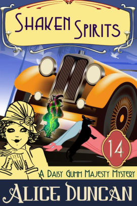 Book cover for Shaken Spirits (A Daisy Gumm Majesty Mystery, Book 14): Historical Cozy Mystery