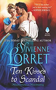 Book cover for Ten Kisses to Scandal
