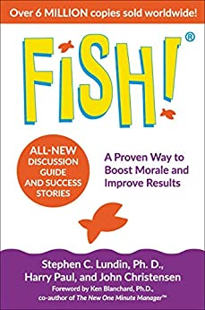 Book cover for Fish!: A Remarkable Way to Boost Morale and Improve Results