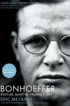 Book cover for Bonhoeffer: Pastor, Martyr, Prophet, Spy