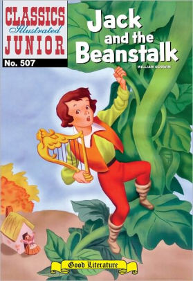 Book cover for Jack and the Beanstalk - Classics Illustrated Junior #507