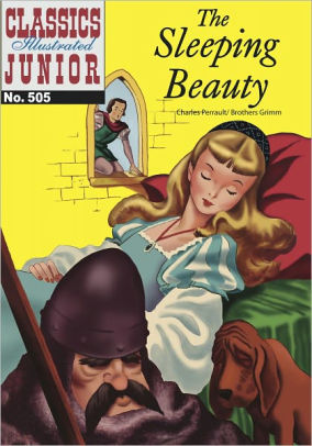 Book cover for Sleeping Beauty - Classics Illustrated Junior #505