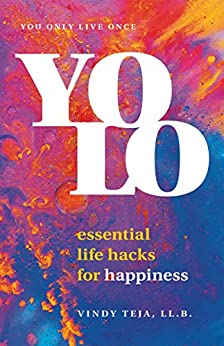 Book cover for YOLO: Essential Life Hacks for Happiness