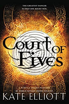 Book cover for Court of Fives (Court of Fives Series #1)