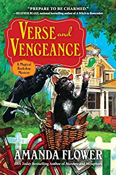 Book cover for Verse and Vengeance: A Magical Bookshop Mystery