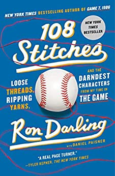 Book cover for 108 Stitches: Loose Threads, Ripping Yarns, and the Darndest Characters from My Time in the Game