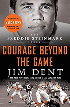 Book cover for Courage Beyond the Game: The Freddie Steinmark Story
