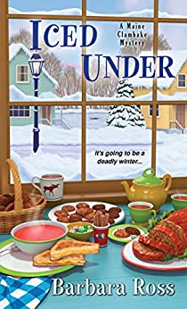 Book cover for Iced Under (Maine Clambake Series #5)