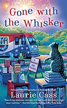 Book cover for Gone with the Whisker (Bookmobile Cat Series #8)