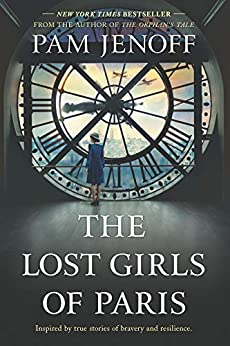 Book cover for The Lost Girls of Paris
