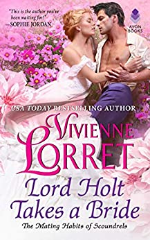 Book cover for Lord Holt Takes a Bride
