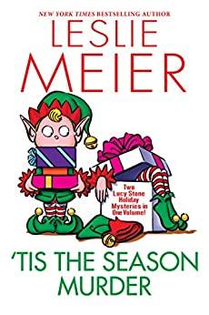 Book cover for 'Tis the Season Murder