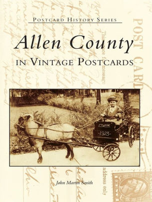 Book cover for Allen County in Vintage Postcards