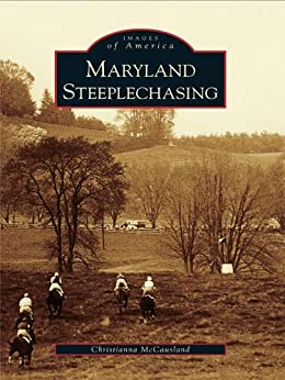 Book cover for Maryland Steeplechasing